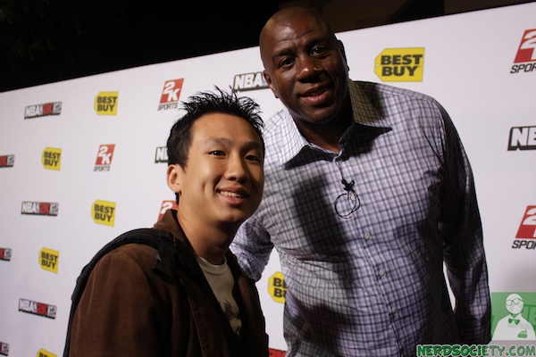 nba 2k12 magic johnson 4 1 Magic Johnson NBA 2k12 Launch Party