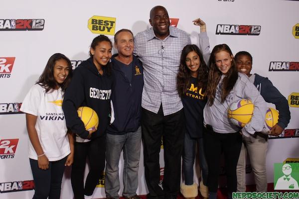 nba 2k12 magic johnson 5 1 Magic Johnson NBA 2k12 Launch Party
