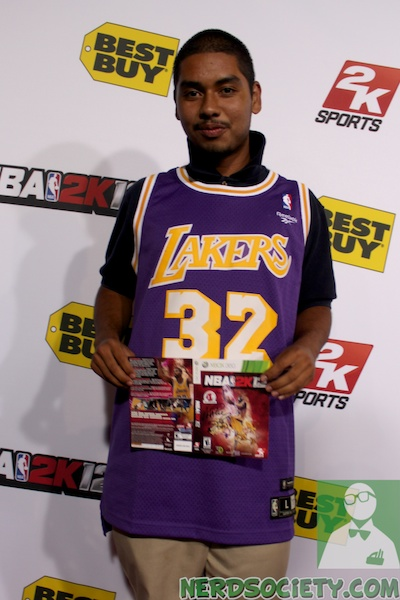 nba 2k12 magic johnson 6 1 Magic Johnson NBA 2k12 Launch Party
