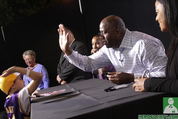 nba 2k12 magic johnson 7 1 Magic Johnson NBA 2k12 Launch Party
