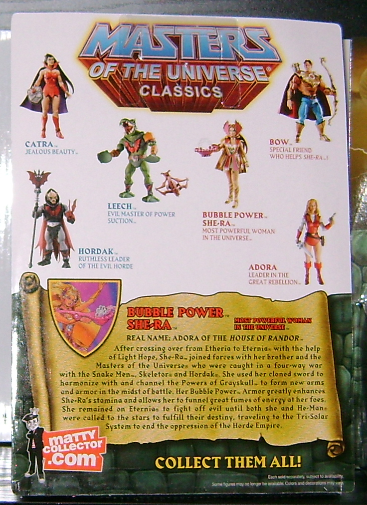 BP Shera 3 Matty Script: Nov (ALTERED)  Swiftwind and Bubble Power She Ra!