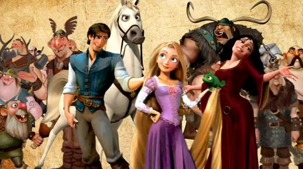 Tangled Film New Tangled Short Attached With Beauty & The Beast 3D
