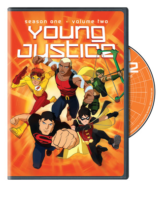 YOUNG JUSTICE S1 V2 BOXART DVD Review: Young Justice Season 1 Vol 2