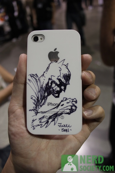 lbcc 2011 51 My Customized Batman iPhone Case By David Finch