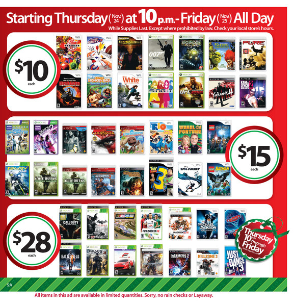 walmart ad Black Friday Deals At Wal Mart