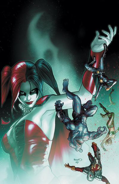 harleyq2 Harley Quinns New Origin In January