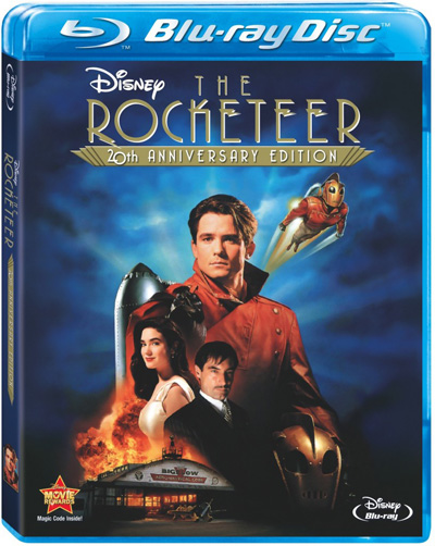 rocketeer bd art 816x1024 Blu Ray Review: The Rocketeer
