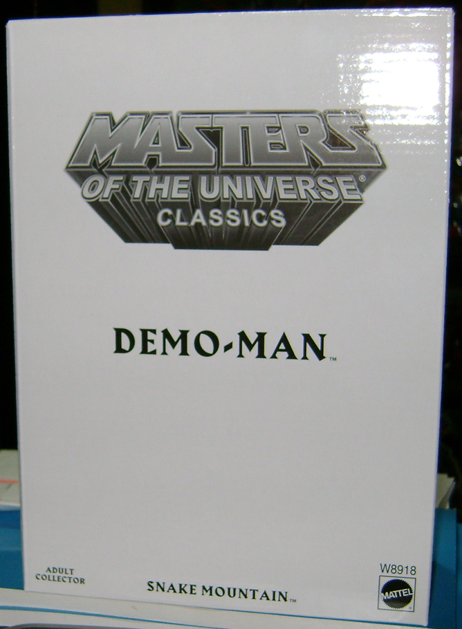 D Man 0 Demo Man and Alcala Skeletor!