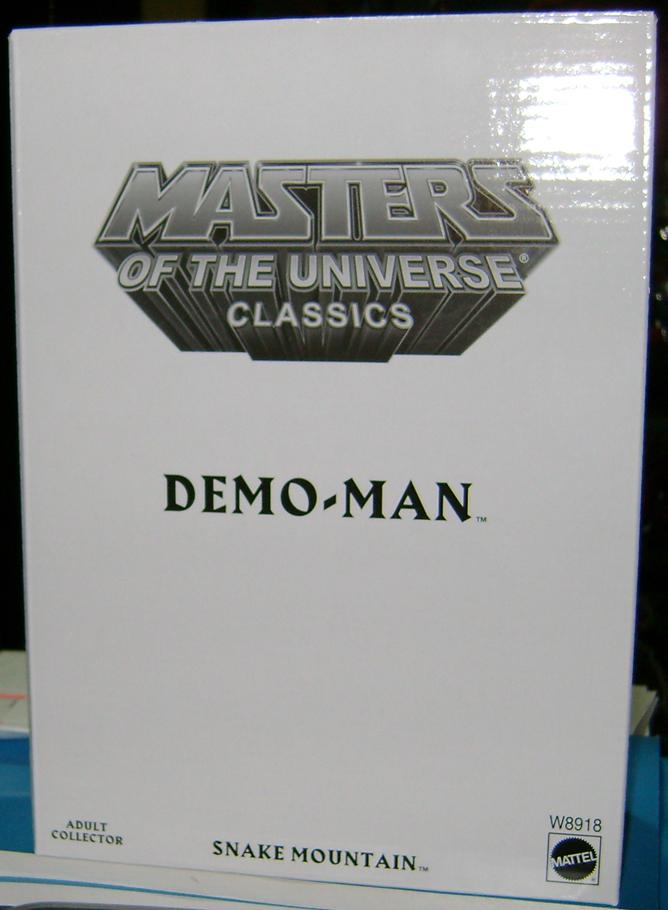 D Man 0 Demo Man and Alcala Skeletor!