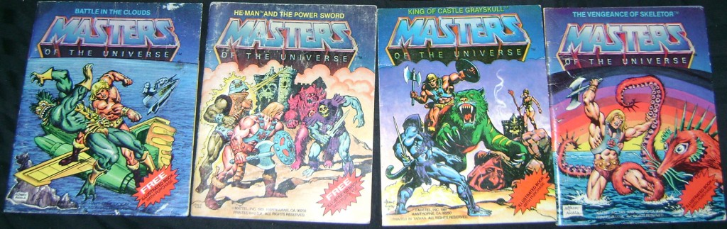 D Man Books 1024x323 Demo Man and Alcala Skeletor!