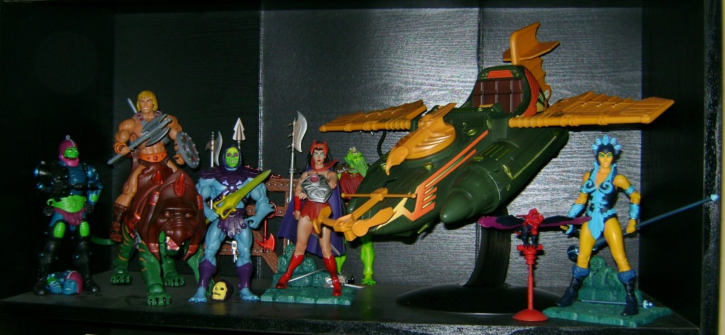 D Man Shelf 1024x474 Demo Man and Alcala Skeletor!