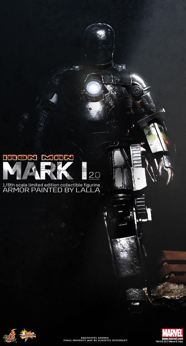Iron man ht Hot Toys Marvel Characters For 2012