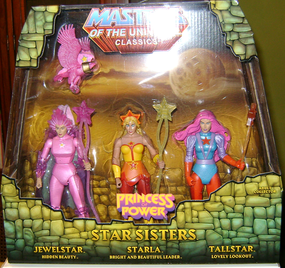 StarS 2 Thirty Years Of MOTU: Jan  The Star Sisters!