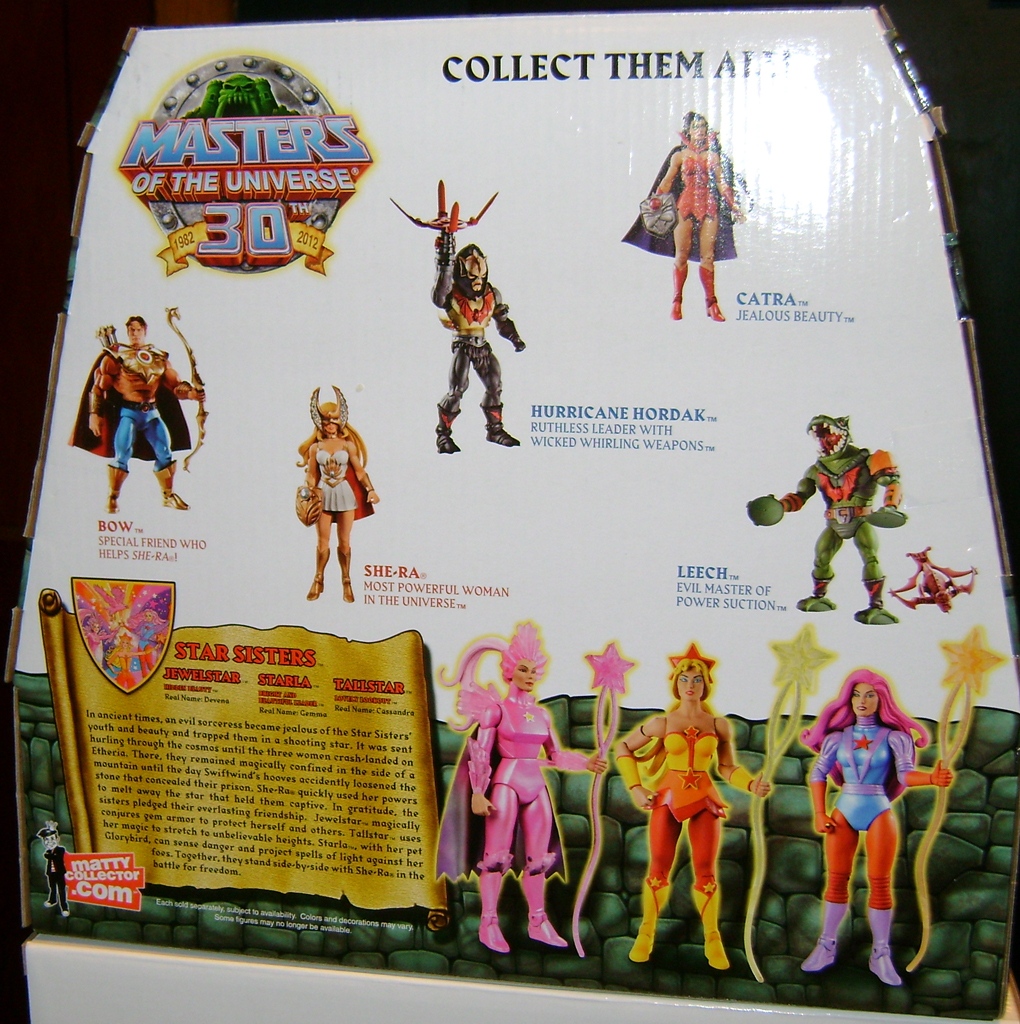 StarS 4 Thirty Years Of MOTU: Jan  The Star Sisters!