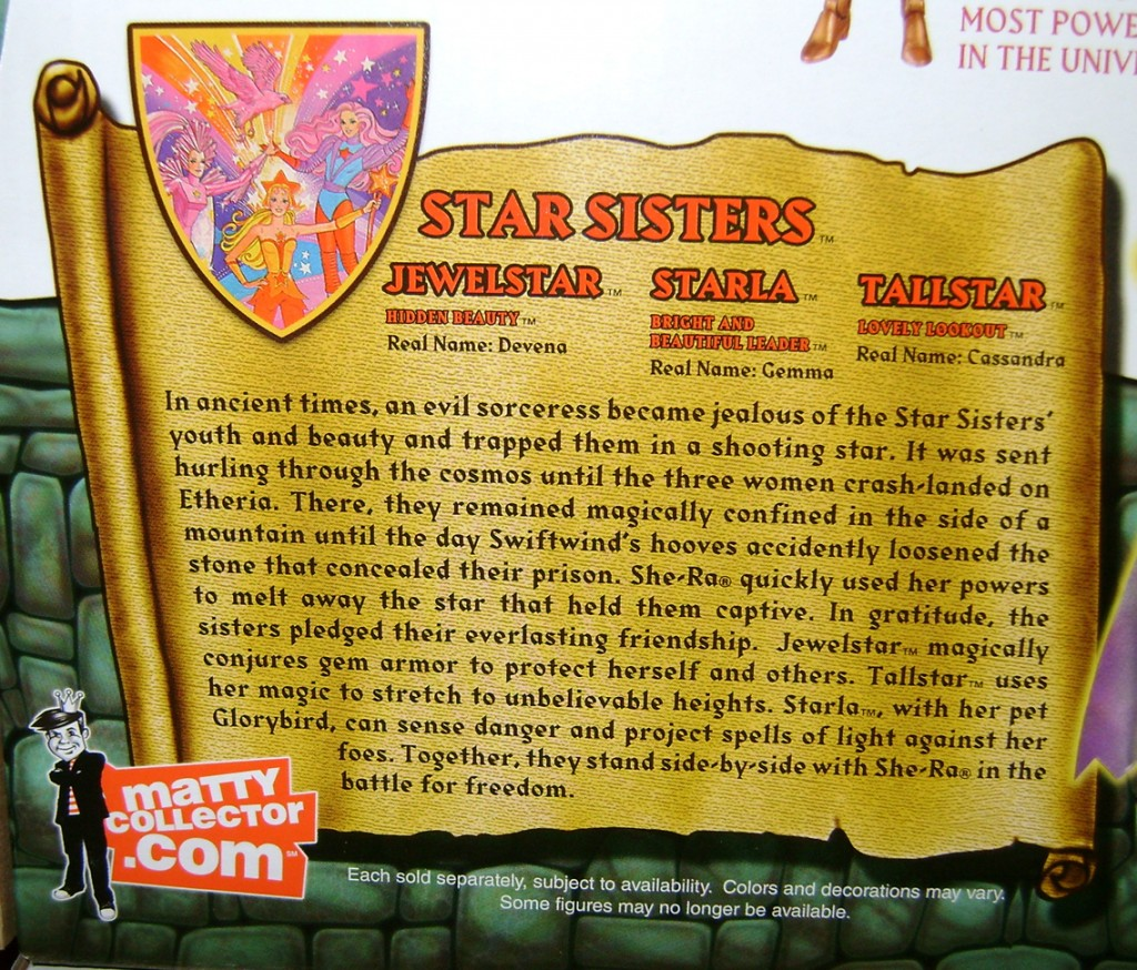 StarS 5 1024x874 Thirty Years Of MOTU: Jan  The Star Sisters!