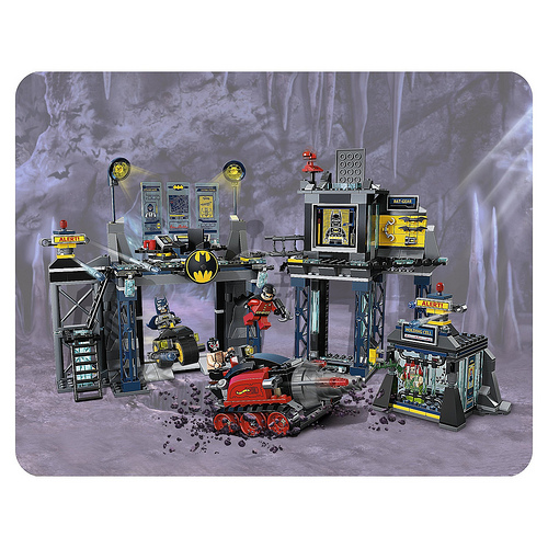 batcave New Images Of DC Lego Sets