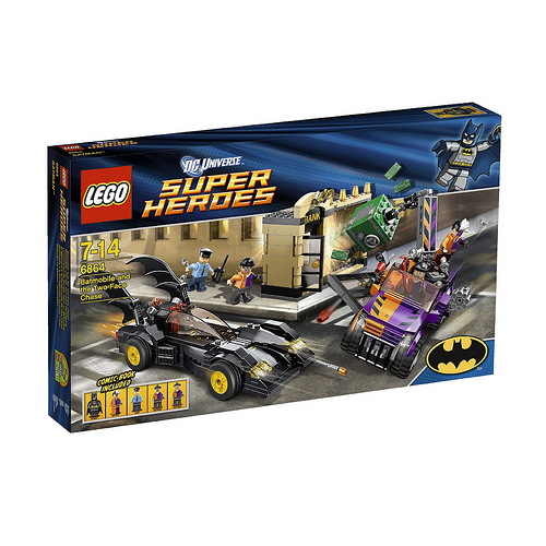 batmobile New Images Of DC Lego Sets