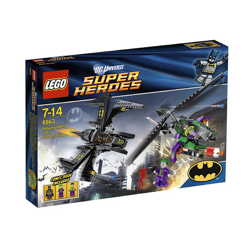 batwing New Images Of DC Lego Sets
