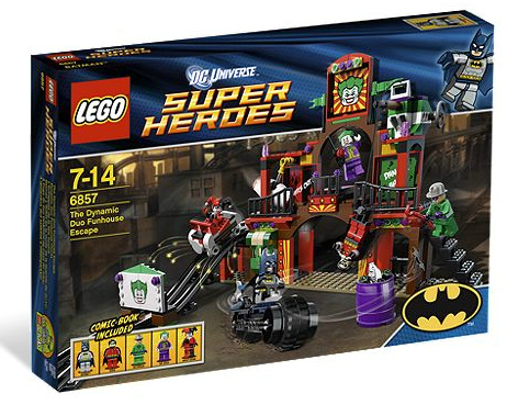 funhouse New Images Of DC Lego Sets
