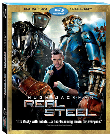 real steel bluray01 Blu ray Review: Real Steel
