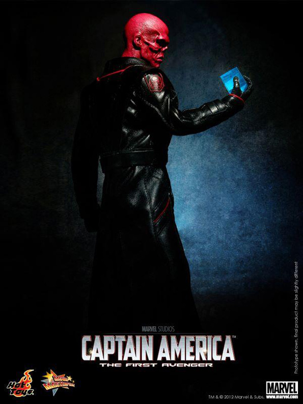 redskull ht Hot Toys Marvel Characters For 2012