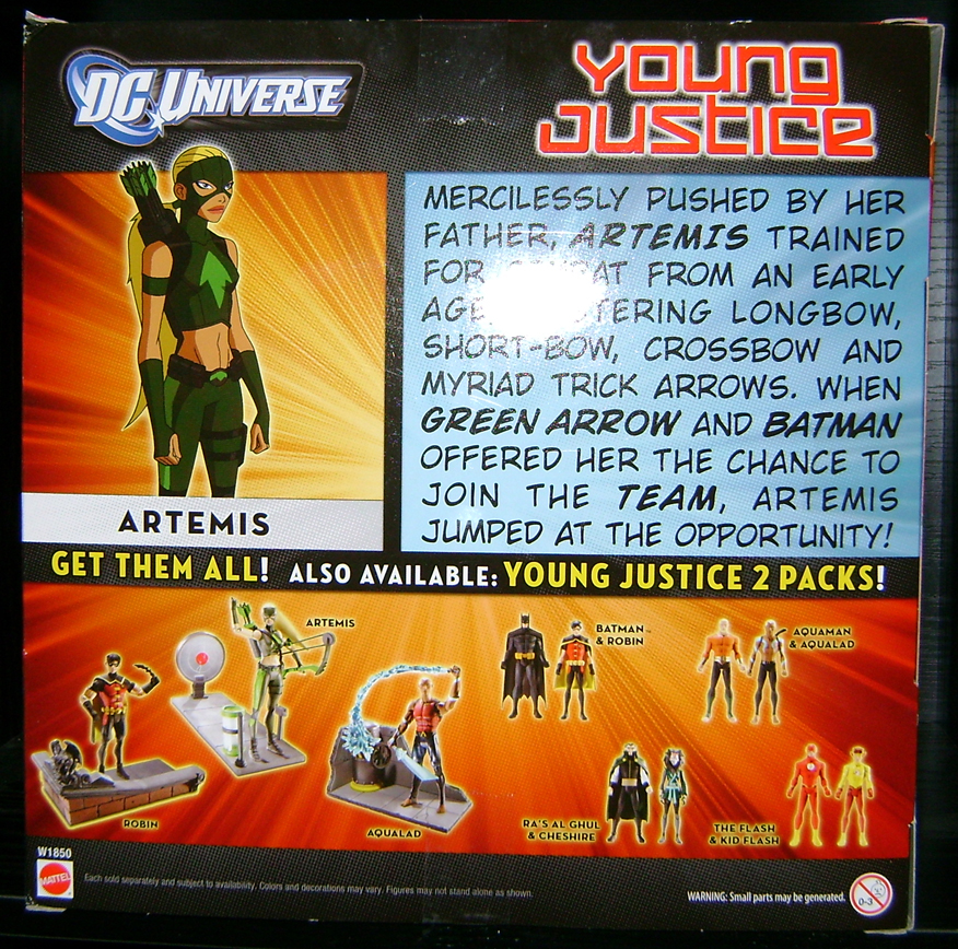Artemis 2 Young Justice Season 1 Volume 3 DVD Review!