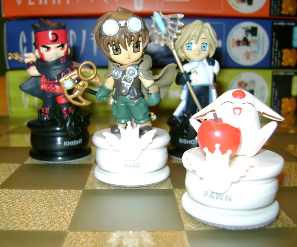 Clamp C Tsubasa 1024x849 Clamp No Kiseki Chess Set!