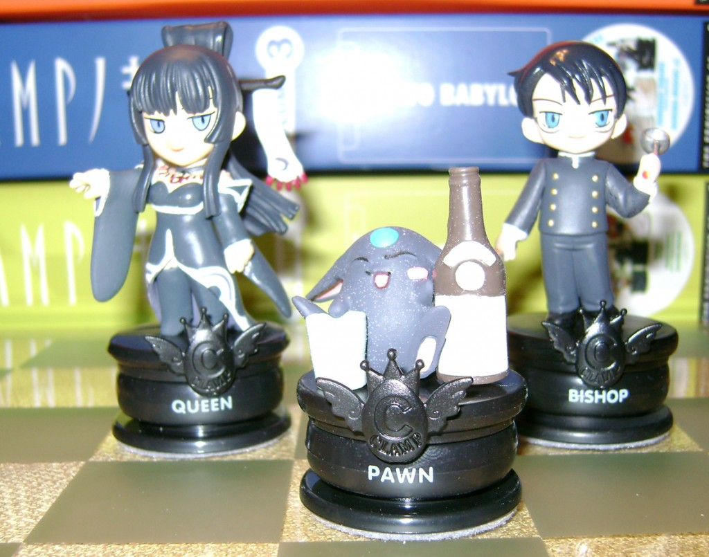 Clamp C xxxholic 1024x805 Clamp No Kiseki Chess Set!