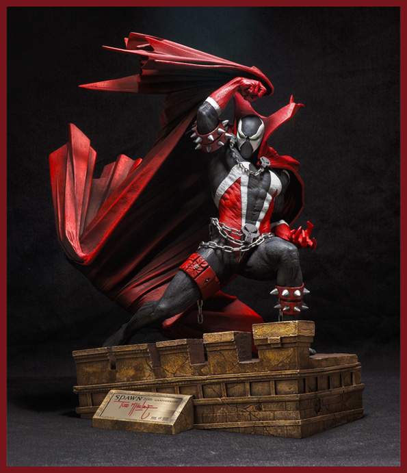 spawn 20th product  04271 zoom thumb a Spawn 20th Anniversary Statue