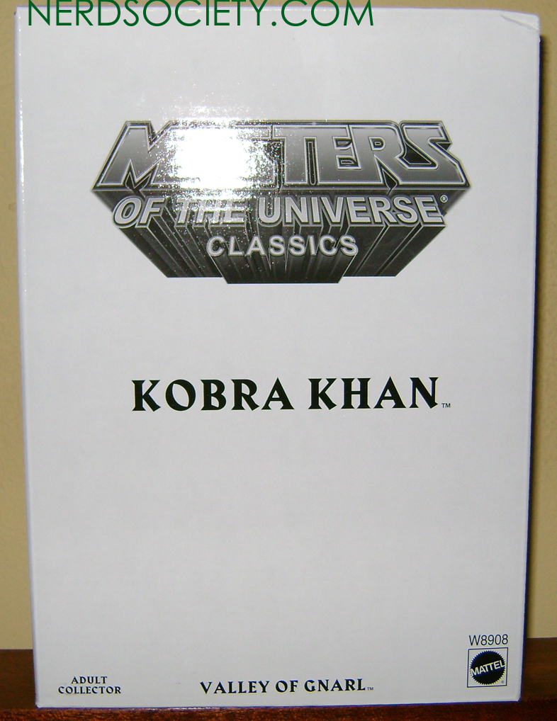 KKahn 1 Thirty Years Of MOTU: Mar:  Kobra Khan!