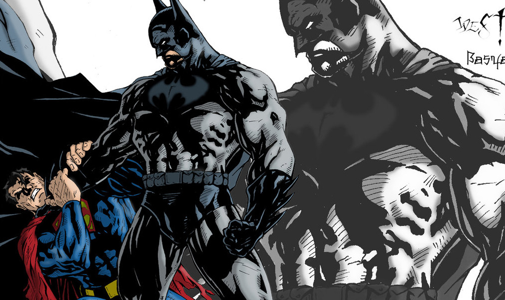 batman vs superman1 Threadless Election 2012: Ninjas Rule & Others Fall