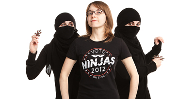 hires2 Threadless Election 2012: Ninjas Rule & Others Fall