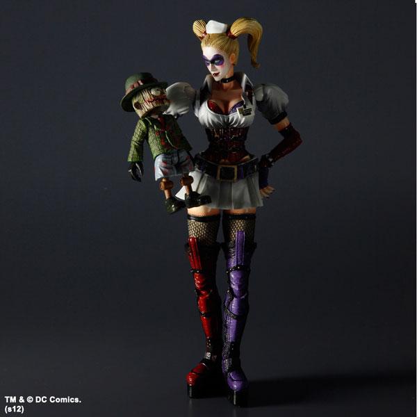hq4 Harley Quinn Play Arts Kai Figure