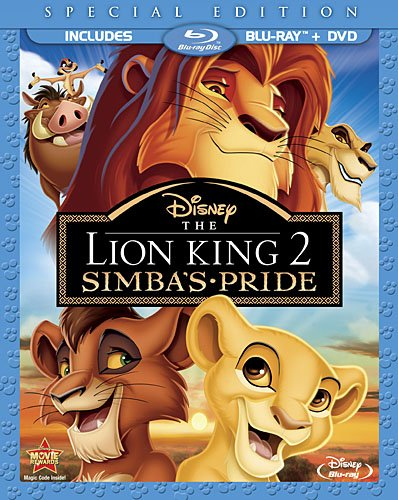 lionking2 Blu Ray Review: Lion King 2   Simbas Pride