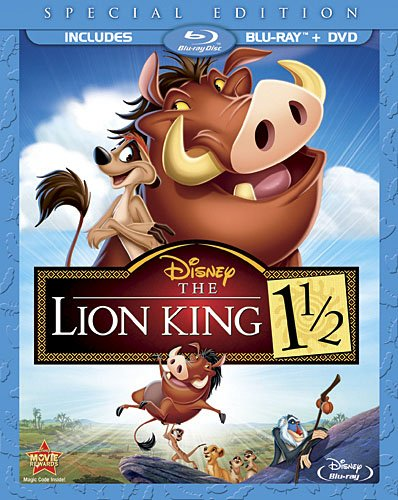 lionkinghalf Blu ray Review: Lion King 1 1/2