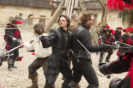 three01 Blu ray Review: The Three Musketeers