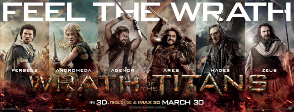 wrath titans Wrath Of The Titans Posters