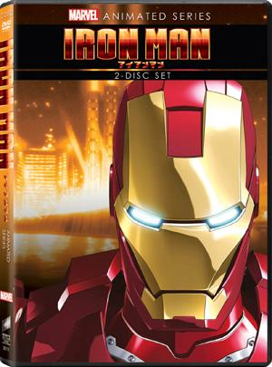 Iron Man Iron Man: Anime, DVD Review!