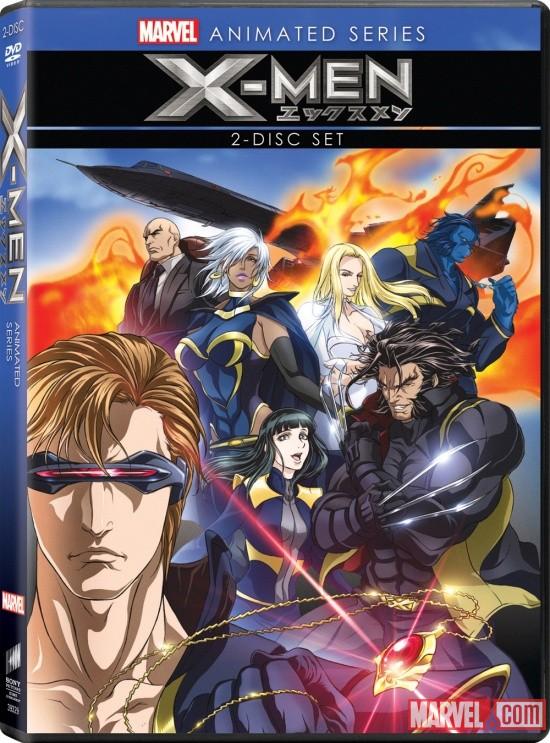 X Men Anime3 DVD Review: X Men Anime