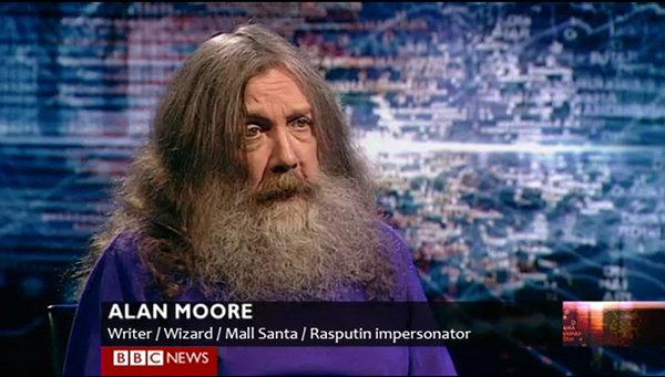 alan moore Funny Pic: Alan Moore