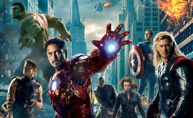 avengers poster street thumb Avengers Lego Poster Free On Opening Day