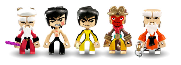 bruce lee x mad toys Stylized Bruce Lee Figures Coming Soon