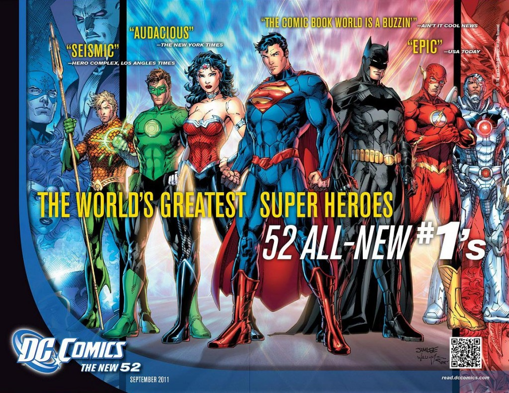 dc new 52 poster 1024x791 DC Releasing New Zero Issues This September