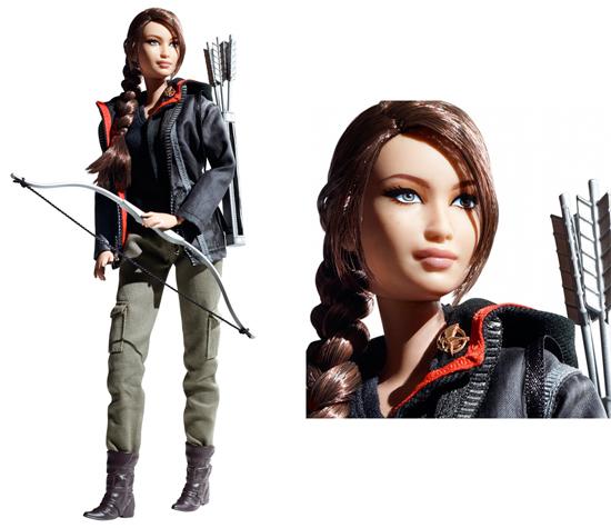 hunger games barbie copy Katniss Hunger Games Barbie