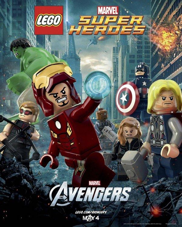 lego avengers Avengers Lego Poster Free On Opening Day