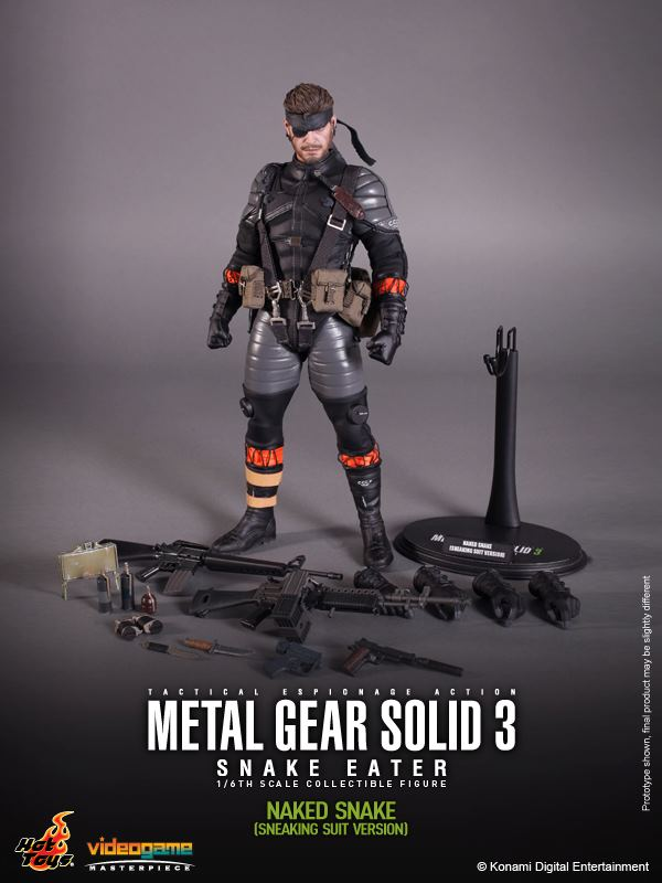 mgs hottoys2 First Pics Of Hot Toys Metal Gear Solid 3