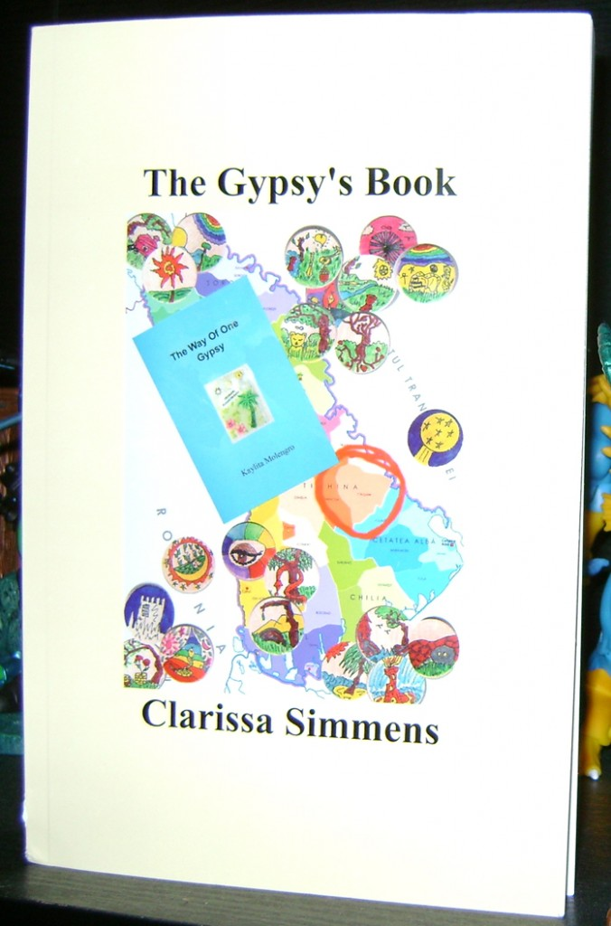 GBook 1 676x1024 The Gypsys Book By: Clarissa Simmens Review.