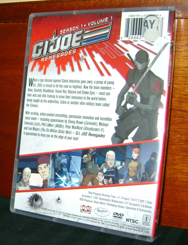 GIJoe R Back 785x1024 DVD Review: G.I. Joe Renegades!