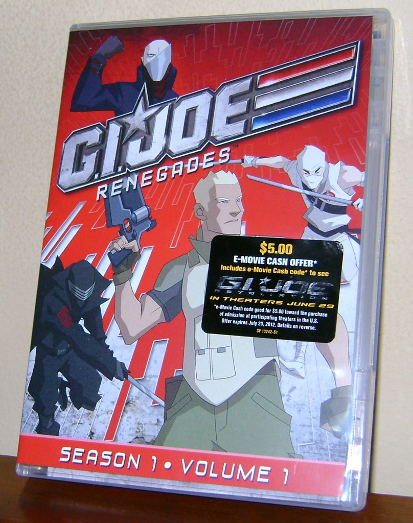 GIJoe R Cover 808x1024 DVD Review: G.I. Joe Renegades!