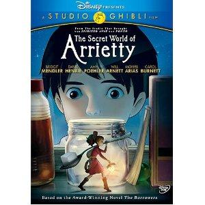 Secret World 1 Blu ray Review: The Secret World of Arrietty